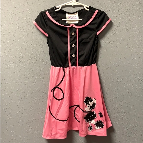 california costumes Other - Girls Poodle Skirt Costume size 3-4